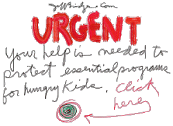 Your help is needed to protect essential programs for hungry kids, Jeff Bridges.com (Link opens new window off the NEDV.NET site at jeffbridges.com web site)