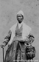 Sojourner Truth portrait adapted from image courtesy of the Library of Congress